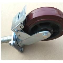 脚手架轮/万向轮/分体轮/脚轮/脚手架/升降轮/AB平刹 老周建材